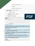 Cuestionario Unidad 1 - Fundamentacion