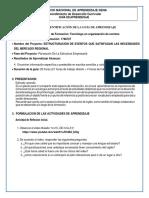 GUIA DE APRENDIZAJE  RAP 4 GFPI-F-019