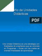 El Diseño de Unidades Didácticas