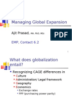 EMP, Contact 6-2, Managing Global Expansion