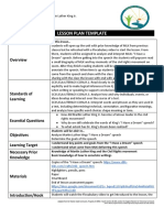 blank lesson plan template  2