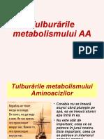 AA, tulburări de  metabolism