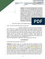 Casación 823 - 2017 Falsa Declaracion en Procedimiento Administrativo Debe Ser Litigioso o Contensioso Delito de Falsa Declaracion en Procedimiento Administrativo