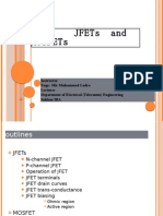 Jfets and Mosfets