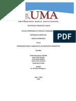 Propiedades Físicas y Químicas de Los Compuestos Aromáticos