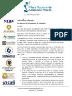 CARTA A PRESIDENTE DE LA REPÚBLICA SOBRE PANDEMIA CORONAVIRUS. 15MARZO2020. (1)