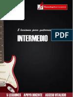 Cinco lecciones para guitarristas de nivel intermedio.pdf