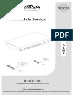 DVD Game - Esquema Elétrico