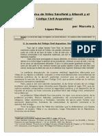 La polémica de Vélez Sársfield y Alberdi y el Código Civil Argentino