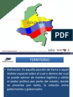 Elementos del Estado Territorio y poder