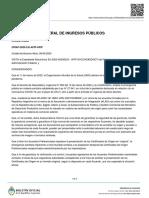 AFIP - Circular 2-2020