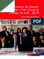 Compromisos de Gestión Escolar y Plan Anual de Trabajo.doc