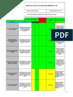 3-Matriz de Riesgo para Lavado y Sanitizado de Estanques