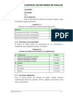 3.1 PARAMETROS DE DISEÑO