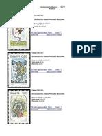 Catálogo Selos Comemorativos 3 parte
