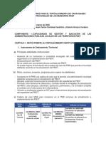 Informe de Capacidades Institucionales El Bagre