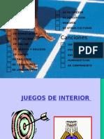 CANTOS Y JUEGOS