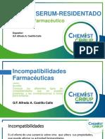 1 er Tema Incompatibilidades Farmaceuticas Dr. Alfredo Castillo 7.10.2017 Primera Clase.pdf