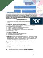 PROYECTOS DE FORMACIÓN DOCENTE