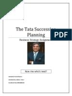 The Tata Succession Planning