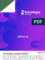 SEFAZ-AL. Aula 01.