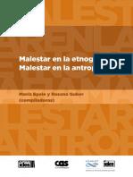 Malestar en La Etonografía...Malestar en La AntropologíaREDUC