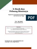 Cara Gampang Membuat Ebook dan Peluang Bisnis Ebook
