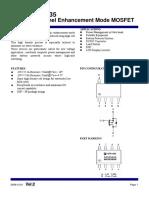 4435sc datasheet Mosfet canal P.pdf
