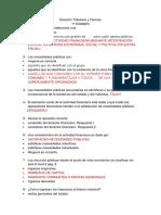 PREGUNTERO DERECHO TRIBUTARIO Todo