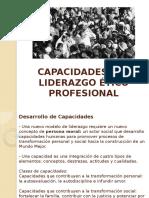 Capacidades Liderazgo Ético Profesional