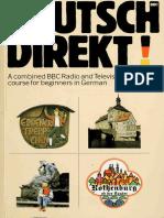 Deutsch Direkt (BBC German Course) Radio and Television course for beginners in German