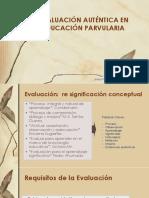 EVALUACIÓN AUTÉNTICA EN EDUCACIÓN PARVULARIA 1(1)