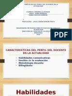 PERFIL DOCENTES Y HABILIDADES COMUNICATIVAS