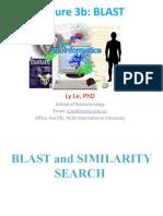 04B. BIOINFORMATICS-LECTURE 4 (ALTERNATIVE)-BLAST