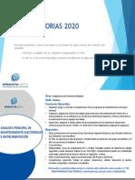 ANALISTA PRINCIPAL DE MANTENIMIENTO ELECTRÓNICO E INSTRUMENTACIÓN
