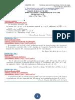 FIȘA NR. 9 (tot 28 MARTIE 2020) pregătire CONCURSURI ȘCOLARE (Clasa a 6 -a,Clasa a 7 -a, ) cu soluții detaliate
