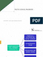 Clase 3 - EL PRIMER CONTACTO CON EL PACIENTE