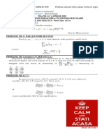 FIȘA NR. 22 (4 APRILIE 2020) simulare OJM - ONM clasa a IX-a - SUBIECTE SI SOLUTII