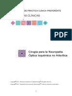Cirugia Para La NeuropatIa Optica Isquemica No Arteritica PPP PC