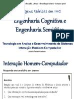 Aula 07 - Engenharia cognitiva e Engenharia semiótica