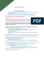 CPL Ground Notes