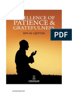 Excellence of Patience And Gratefulness - Ibnu Qayyim al-Djawziyyah