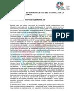 7. LA LACTANCIA Y LA NUTRICION SON LA BASE DEL DESARROLLO DE LA INTELIGENCIA Y LA SALUD YADY BUSTOS BALLESTEROS.pdf
