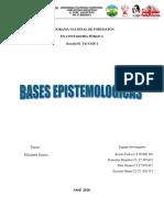 BASES EPISTEMOLOGICAS