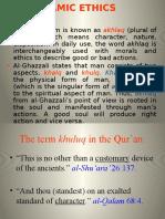 Islamic ethics 1