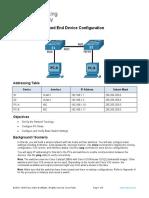 04. Kuliah 4 - Praktek2 - Basic Switch and End Device Configuration