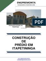 Construção de Prédio Em Itapetininga