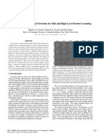 Adaptive deconvolutional networks for mid and high level feature learning