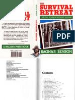 The Survival Retreat - Ragnar Benson