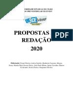 PROPOSTA DE REDAÇÃO SEMESTRE 2020.1